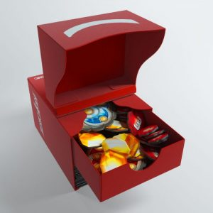 Keyforge Gemini Deckbox Red