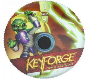 Keyforge Premium Chain Tracker - Mars