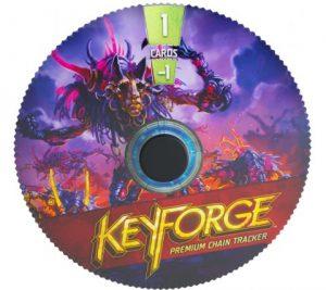 Keyforge Premium Chain Tracker - Dis