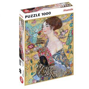 Puzzel - Klimt Lady with Fan