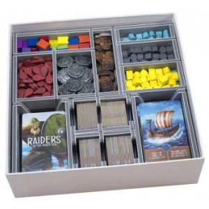 Raiders of the North Sea - Folded Space Insert
