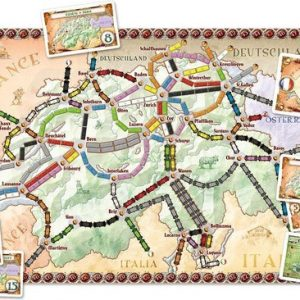 Ticket to Ride - India/Zwitserland