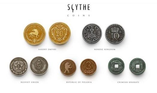 Scythe - Metal Pieces