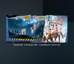 Zombicide - Chronicles RPG : GameMaster Starter Kit