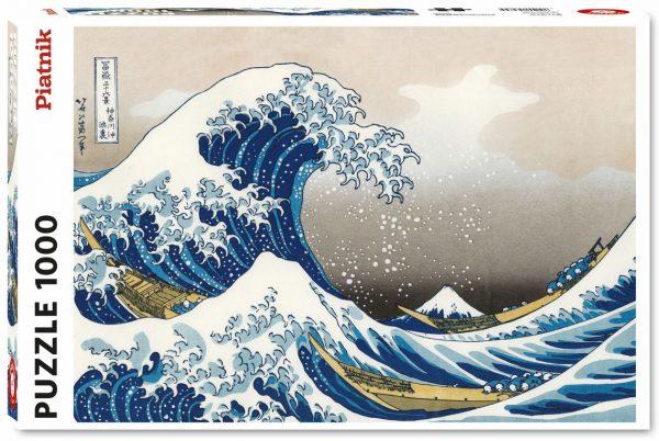 Puzzel - The Great Wave off Kanagawa - Katsushika Hokusai (1000)