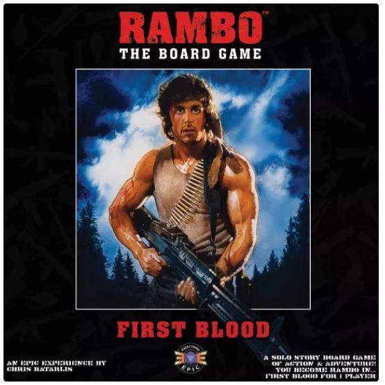 Rambo - The Board Game: First Blood