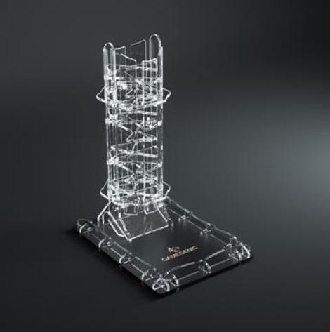 Crystal Dice Tower