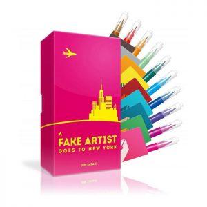 Fake Artist Goes to NY