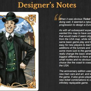 Ticket to Ride Europe: 15th Anniversary ENG