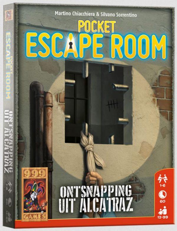 Pocket Escape Room: Ontsnapping uit Alcatraz