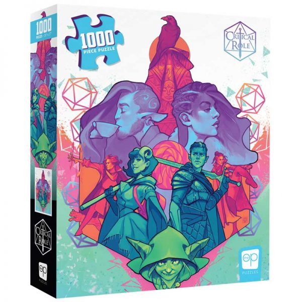 """Puzzel - Critical Role """"Mighty Nein"""" (1000) - PREORDER"""