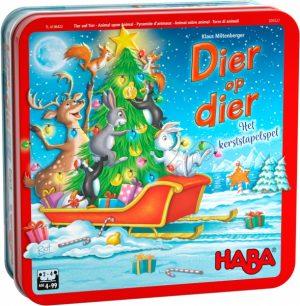 Dier Op Dier - Het Kerststapelspel